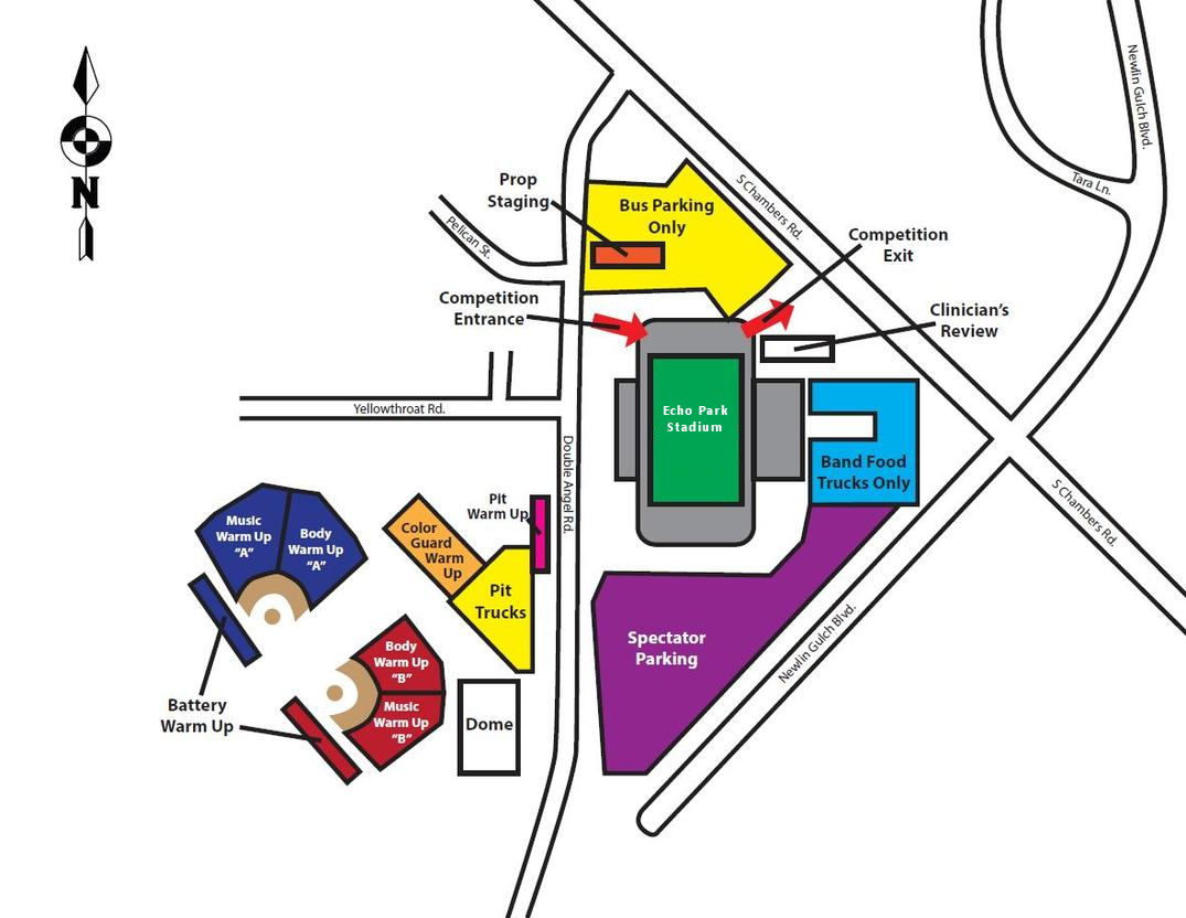 Event Site Map